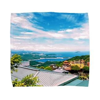 風景 Towel handkerchiefs