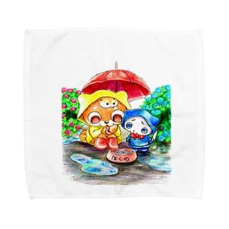 あめふり Towel handkerchiefs