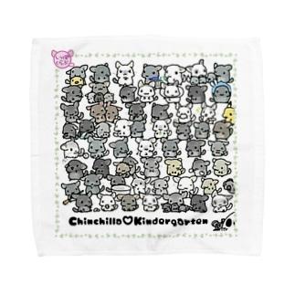 【L専用】チンチラ幼稚園 Towel handkerchiefs