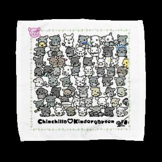 しっぽくらぶの【L専用】チンチラ幼稚園 Towel handkerchiefs