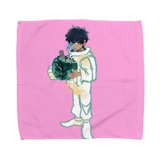 Astronaut Towel handkerchiefs