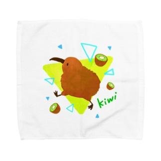 ごきげんキウィ Towel handkerchiefs