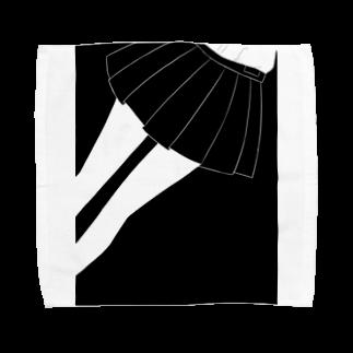 piorのスカート(モノクロ) タオルハンカチ