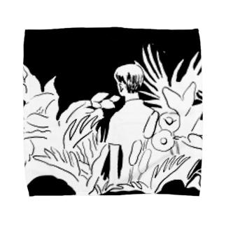 ルル Towel handkerchiefs