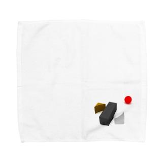 K. and His Designの100日後に死ぬ◯◯◯◯◯ Towel handkerchiefs