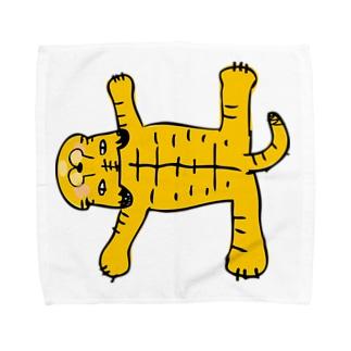 おまぬけなトラさん Towel handkerchiefs