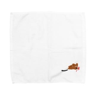 ネズミ Towel handkerchiefs