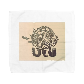 No.2 Towel handkerchiefs
