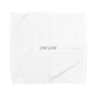 ONE  LOVE タオルハンカチ