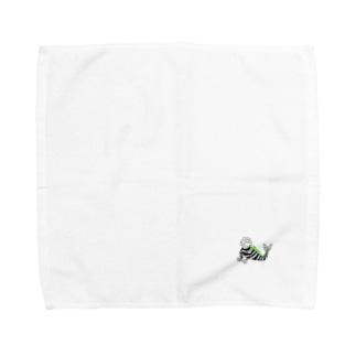 【NANN TO NAKU】かいじゅう Towel handkerchiefs