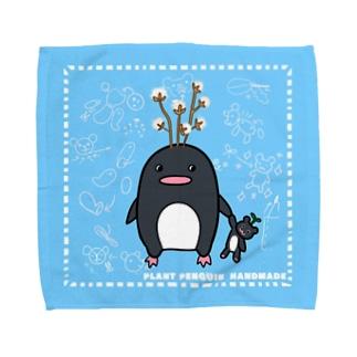 ペンギンさん ハンドメイド タオルハンカチ