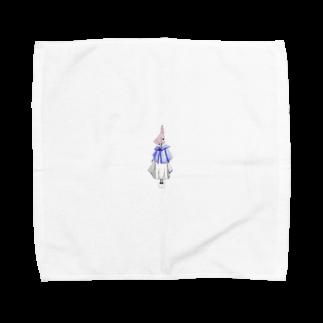 take83のa girl  Towel handkerchiefs