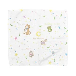 うさぎのミミ・メルシュと仲間達 Towel handkerchiefs