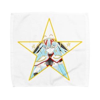 ティッシュババアタオルハンカチ(星型)(L) Towel handkerchiefs
