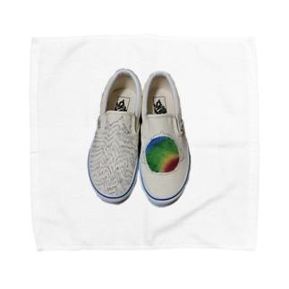 脳波デザイン Towel handkerchiefs