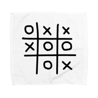 まるばつ Towel handkerchiefs