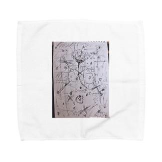 ボクの居場所。 Towel handkerchiefs
