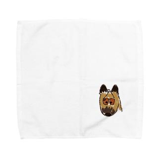 ジャーマンシェパード Towel handkerchiefs