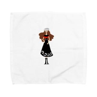 マドモアゼルのんちゃん Towel handkerchiefs