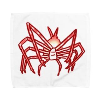 深鮮!タカアシガニ Towel handkerchiefs