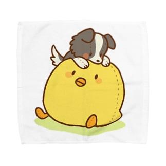 ひよことライラ Towel handkerchiefs
