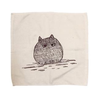 モヤモヤくん。 Towel handkerchiefs