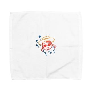こめさん Towel handkerchiefs