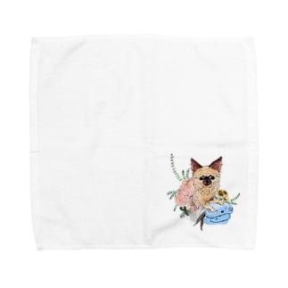 ちゃちゃまる Towel handkerchiefs
