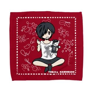 飼い主さん ハンドメイド Towel Handkerchief