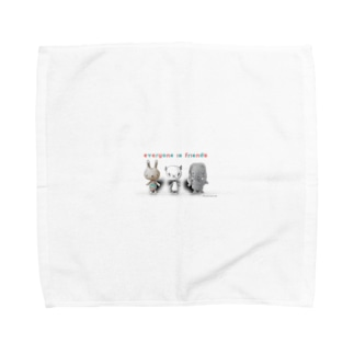ウサパンゾウ Towel handkerchiefs