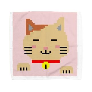 ネコさん Towel handkerchiefs