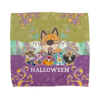 クッキーハロウィン Towel handkerchiefs