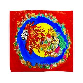 獅子神 Towel handkerchiefs