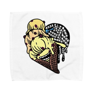 マダム ラムレーズン・スミコ Towel handkerchiefs