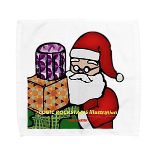 あなたの隣のサンタさん Towel handkerchiefs