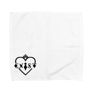 EXiST LOGO white Towel handkerchiefs