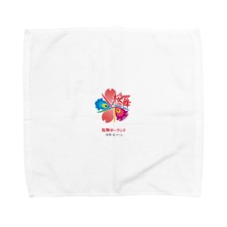 桜舞ポーランド国際チーム Towel handkerchiefs