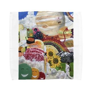 ワンダーランド Towel handkerchiefs