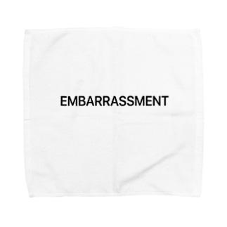 EMBARRASSMENT Towel handkerchiefs