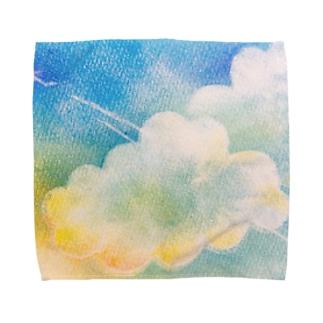 高いところへ Towel Handkerchief