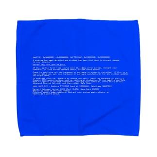 BSOD(Blue Screen of Death) タオルハンカチ
