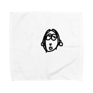ねむいよ Towel handkerchiefs