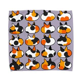 三毛猫 Towel handkerchiefs