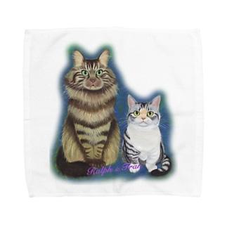 ラルフとフラン Towel handkerchiefs