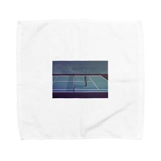 テニスコートより Towel handkerchiefs