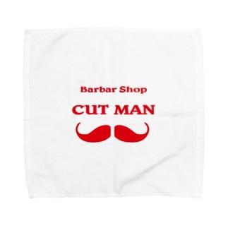 CUTMAN  LOGO Towel handkerchiefs