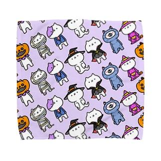吾輩×ハロウィン Towel handkerchiefs
