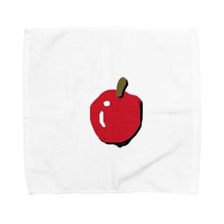 りんご  アップル Towel handkerchiefs