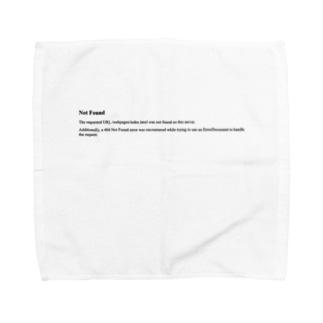 404 Towel handkerchiefs