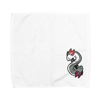 うぱるぱ太極図 Towel handkerchiefs